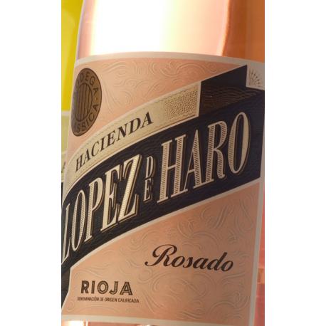 HACIENDA LÓPEZ DE HARO Rosado