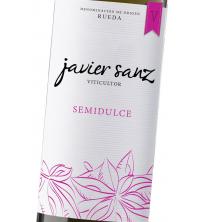 JAVIER SANZ Semidulce Blanco 2017