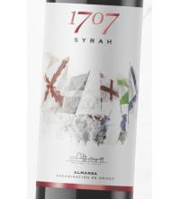 1707 SYRAH Crianza 2014