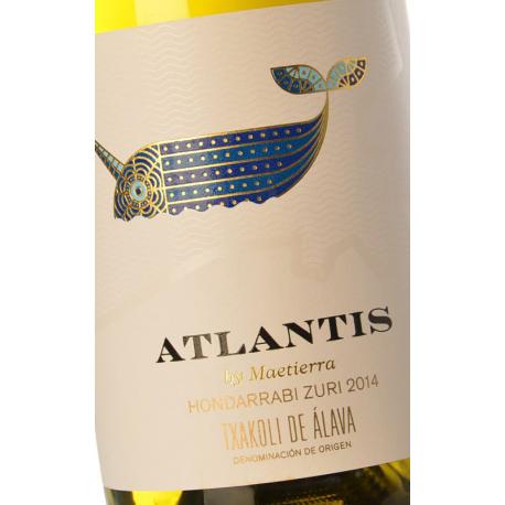 ATLANTIS Blanco Txakolí 2017