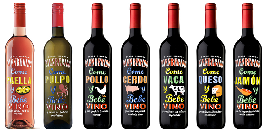 venta online de vino bienbebido come pulpo, pollo, cerdo, jamón, queso y vaca al mejor precio