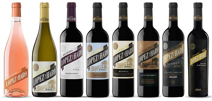 Familia de vinos de Bodega Classica. Vintae