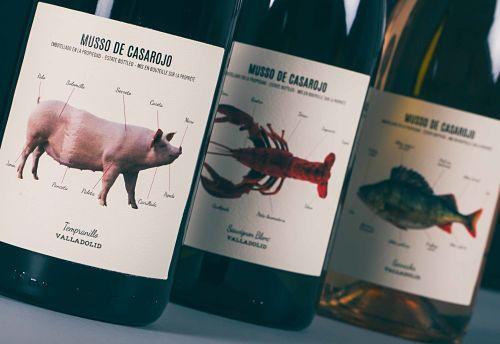 Familia de vinos Musso de Bodega Casa Rojo