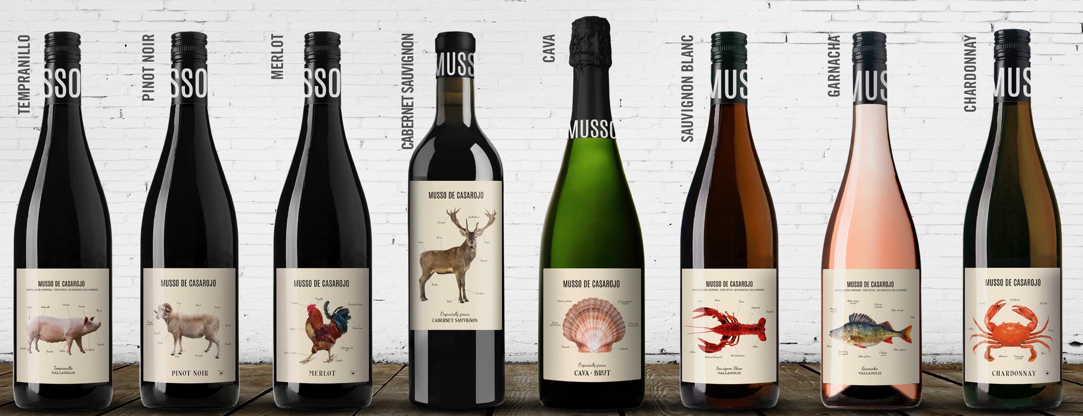 Familia de vinos Musso de Casa Rojo