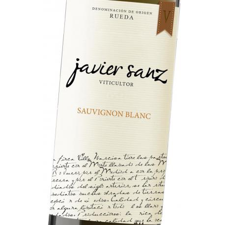 botella de vino javier sanz sauvignon